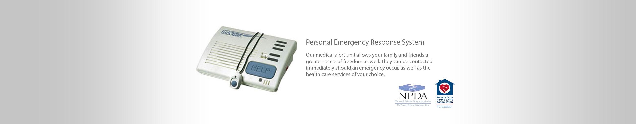 Emergency Alert System for seniors
